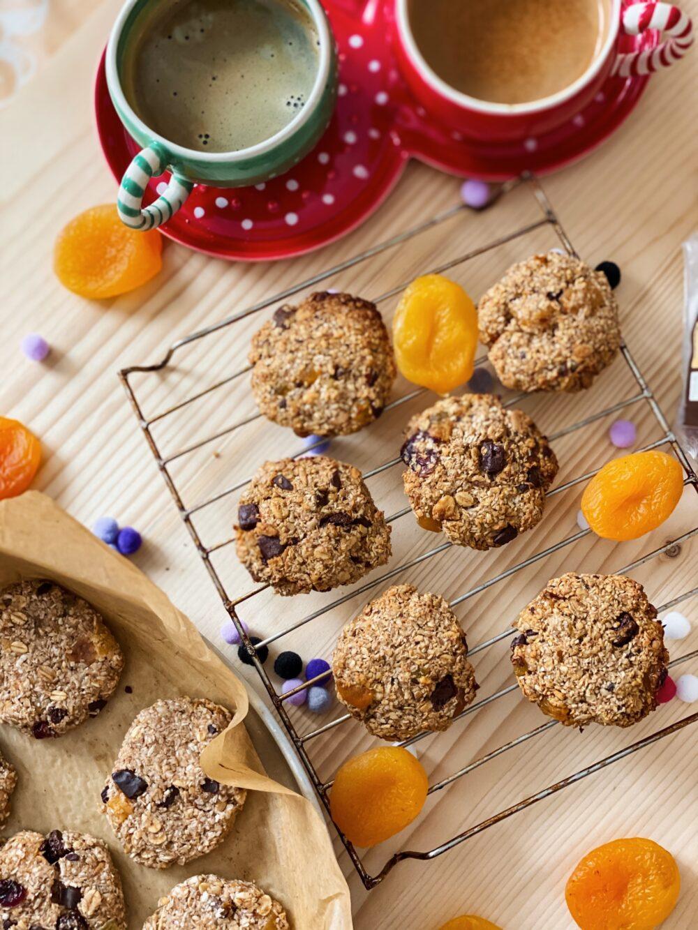 овесени бисквити oatmeal oats cookies healthy food